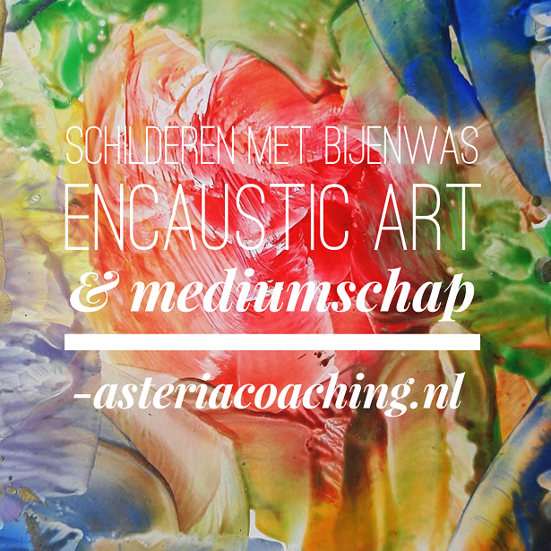 Encaustic art & Mediumschap @ Asteria Coaching