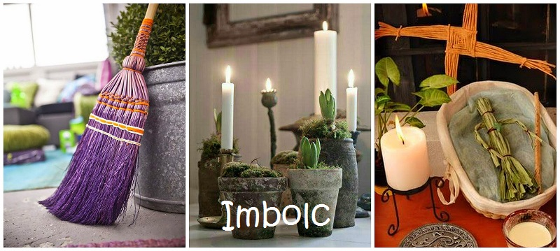 Imbolc collage tekst