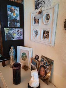 voorouder en familie altaar